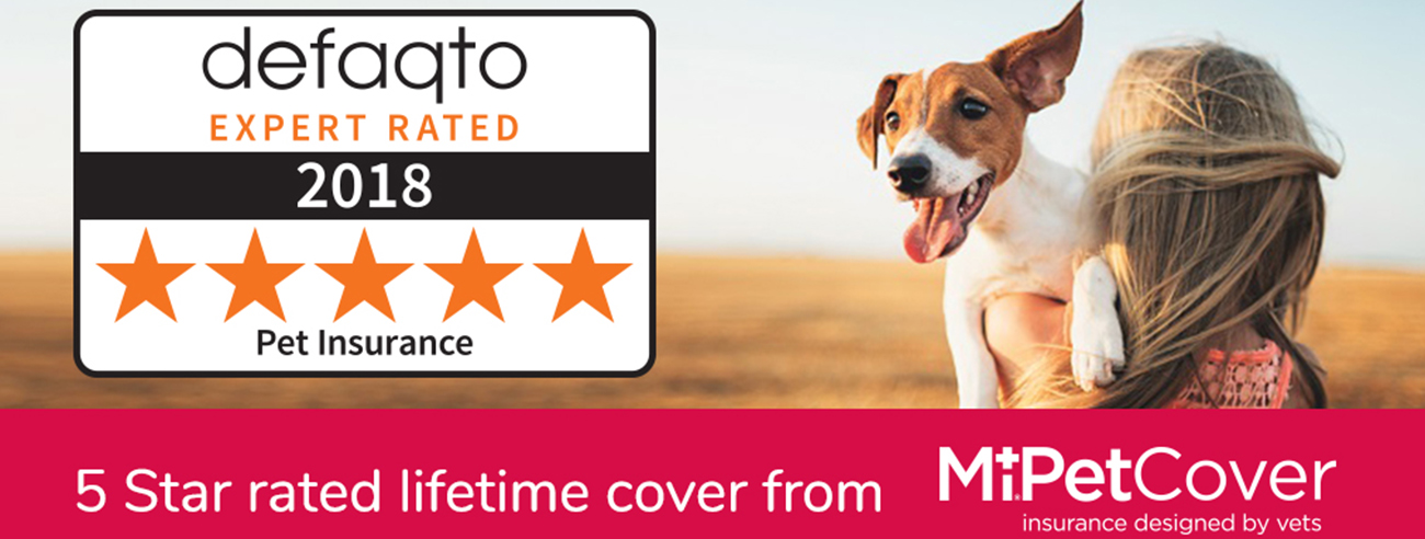 MiPet Cover Insurance, defaqto rating